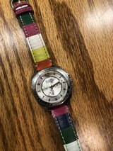 Coach watch with rainbow leather strap ( ladies) in Houston, Texas