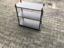Antique German Made Thread Spool Shelf in Ramstein, Germany
