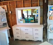 signed ultra high end dresser/ mirror in Cherry Point, North Carolina