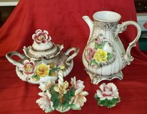 CAPODIMONTE PITCHER AND  CENTER PIECE in Plainfield, Illinois