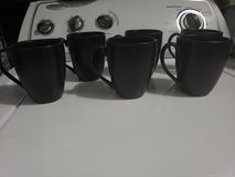 6 Black tea & coffee cups in Fort Campbell, Kentucky