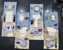 4 pcs. wall Bathroom decor in Clarksville, Tennessee