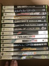 XBox 360 games-selling as a set in Batavia, Illinois