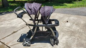 Graco sit and stand double stroller in Cherry Point, North Carolina