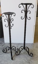 Black candlesticks in bookoo, US