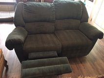 Love Seat- double recliner in Conroe, Texas