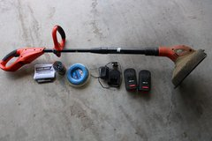 18V Cordless Black and Decker Trimmer/Edger in Fort Hood, Texas