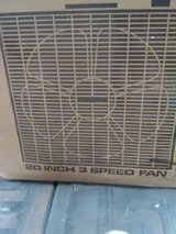 "20""Box fan/in box in Alamogordo, New Mexico"