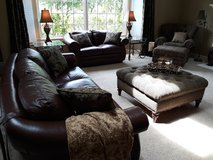 Leather Family Room - complete set in Chicago, Illinois