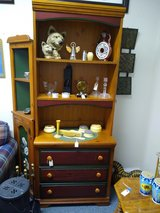 Small Pine Chest of Drawers with Upper Shelves in Batavia, Illinois
