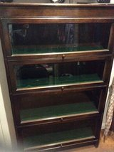 REDUCED BARGAIN  ANTIQUE  4 TIER MODULAR BARRISTER/ LAWYER BOOKCASE in Lakenheath, UK