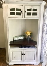 Farmhouse Distressed Entertainment Center TV Stand in Fort Campbell, Kentucky