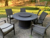 Patio set in Bellaire, Texas