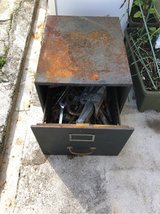 Random tools and box in Okinawa, Japan