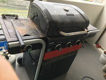 Grill and 2 propane tanks: available after 1 Jul in Okinawa, Japan