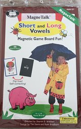 MagneTalk Short & Long Vowels Magnetic Game in Okinawa, Japan