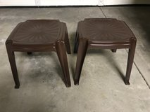 ****2 outdoor patio side tables in Shorewood, Illinois