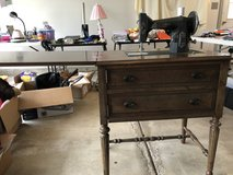 1950's Kenmore sewing machine in cabinet in Glendale Heights, Illinois