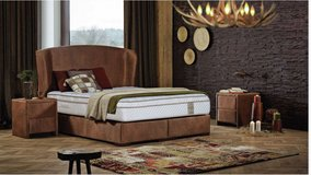 United Furniture - Lifestyle King Size Bed - New Model - Includes Mattress and Delivery in Grafenwoehr, GE