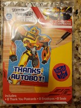 Transformer Thank you cards in Bolingbrook, Illinois