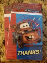 Cars (Mater) Thank you cards in Bolingbrook, Illinois