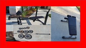 Gym benches and weights in Camp Pendleton, California
