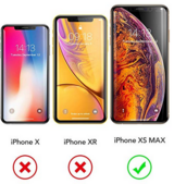 GVIEWIN Clear Case for iPhone Xs Max in Ramstein, Germany