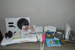 Wii console game gaming system dj hero fit board controllers skylanders in Perry, Georgia