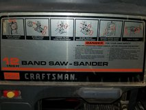 (Fathers Day Gift) CRAFTSMAN BANDSAW SANDER W/STAND in Quantico, Virginia