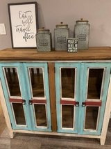 "Gorgeous Rustic Distressed Cabinet ""Vitrina Fina' in Houston, Texas"
