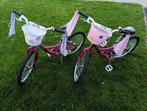 2 Raleigh Girls Bikes in Glendale Heights, Illinois