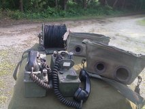 Two TA-312 Field Telephones and almost new spool of wire. in Fort Leonard Wood, Missouri
