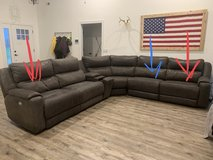 Electric Reclining Sectional in Fort Campbell, Kentucky