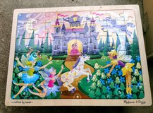 Wooden Toddler Puzzle by Melissa and Doug in Glendale Heights, Illinois
