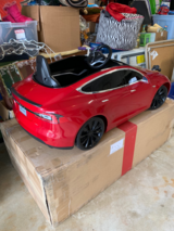 Toy Drivable - Radio Flyer Tesla Model S Car in Glendale Heights, Illinois
