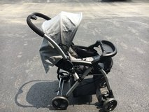 Stroller with reversible handle in Shorewood, Illinois