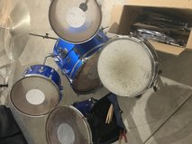 Ludwig Drum Set with additional parts in Naperville, Illinois