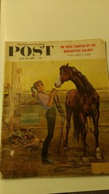1957 Saturday Evening Post in Perry, Georgia