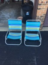 Beach chairs (set of 2) in Bolingbrook, Illinois