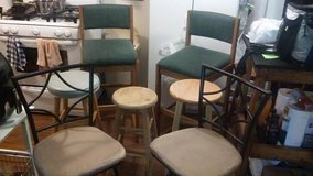 Lot of 5 Stools in Bolingbrook, Illinois