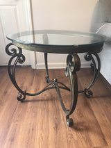 glass coffee table and end tables in Fort Campbell, Kentucky