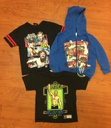 WWE / John Cena Tees & Sweatshirt, Sz XS 4/5 in Fort Campbell, Kentucky