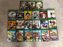 xbox one and wii u games in Naperville, Illinois
