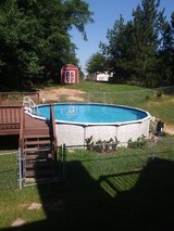 Great big pool in Warner Robins, Georgia