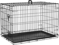 Double Door Folding Metal Dog Crate in Plainfield, Illinois