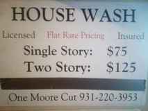 House Washing in Fort Campbell, Kentucky