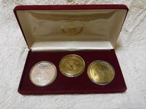 10th Pan American Games Medals Set 1987 Indianapolis 3 Medal Set by Silvertowne in Okinawa, Japan