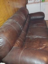 leather couch in Cherry Point, North Carolina