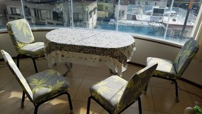 Dining table with 4chairs in Okinawa, Japan