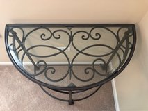 Wrought Iron Console Table in Plainfield, Illinois